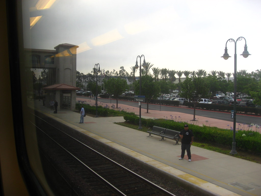 From the Train - Metrolink 91 Line