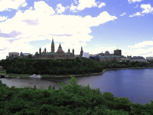 Ottawa Canada June 2010 — Nepean Point Views  2