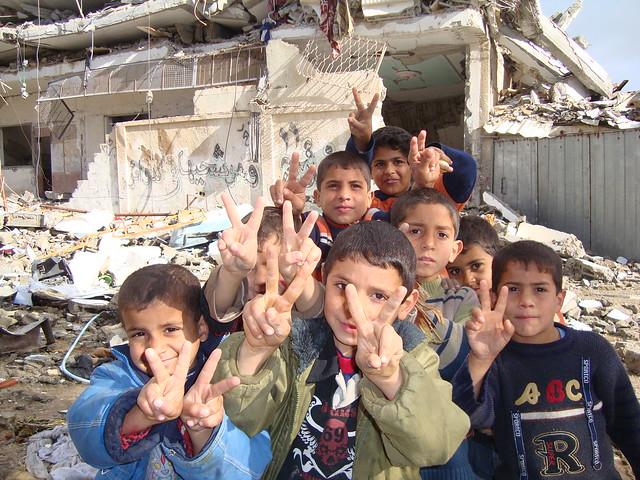Gaza Kids, photographer unknown