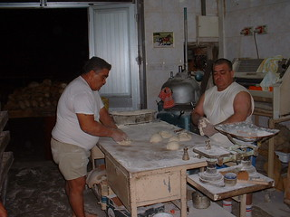 Maltese Bread Being Made