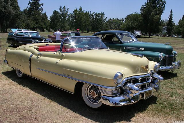 1953 Cadillac Eldorado convertible - yellow - fvr