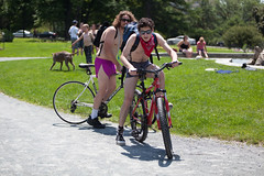 World Naked Bike Ride - Albany, NY - 10, Jun - 10 by sebastien.barre