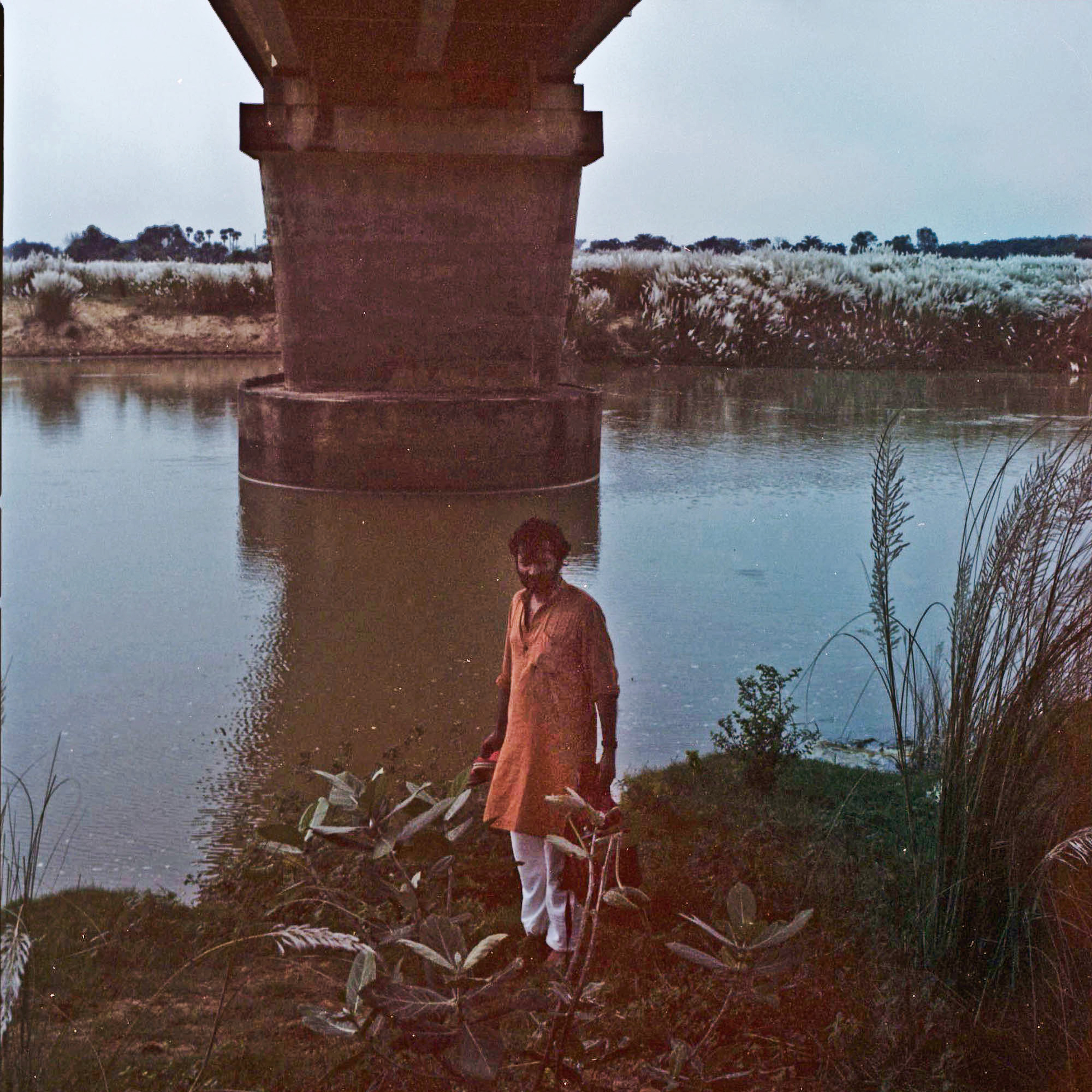 Kaushik under the bridge