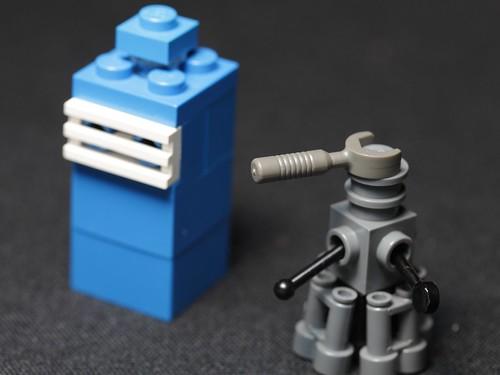 Small Lego Daleks