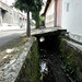 Selokan yang kotor. : Contaminated water in a drainage channel. Photo by Ardian