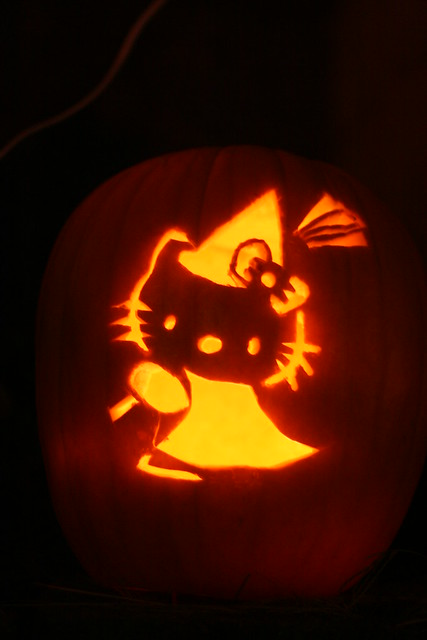 Hello kitty pumpkin flickr photo sharing