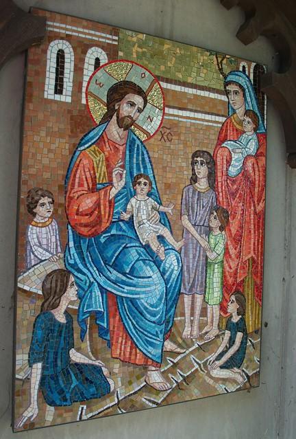 Christ Blesses the Children