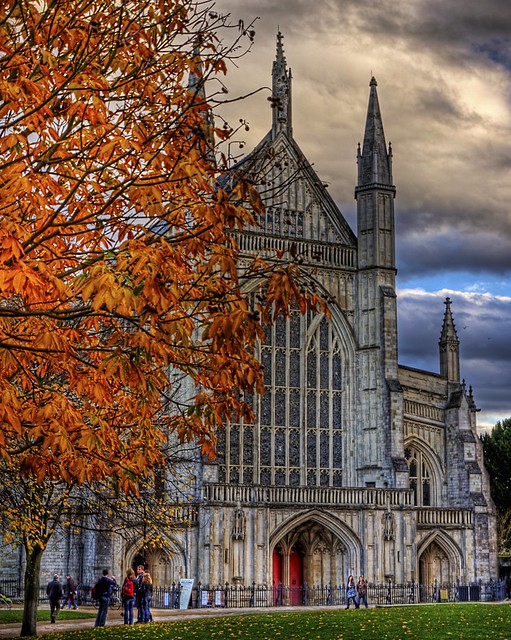 Autumn Colours at Winchester