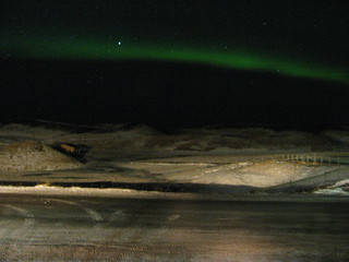 The Aurora seen from Lake Mývatn (28/02/05)