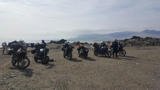 Motociclistas retornam ao Cariri após viagem ao Deserto do Atacama, no Peru