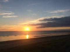 Normandy coast sunset - Photo of Gratot