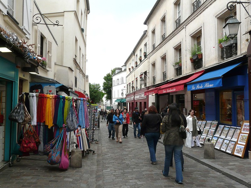 Rue du Mont Cenis, Montmartre