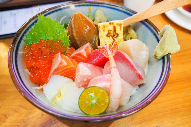 台中/北屯/一點利–市場裡的日式無菜單–鵝房宮