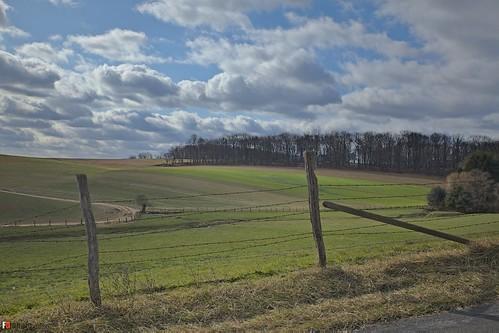 winter sky landscape geotagged maryland farmland carrollcounty hdroutput