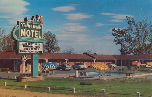 Wish you were hear rip van winkle motel millington for Oasis motors corpus christi