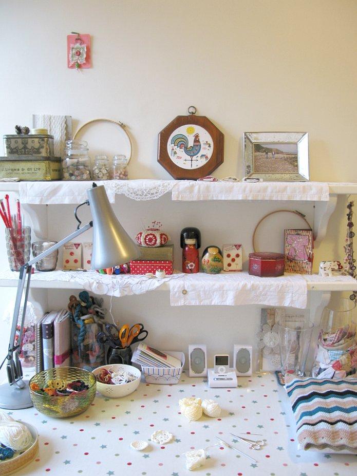 Emma Lamb's studio