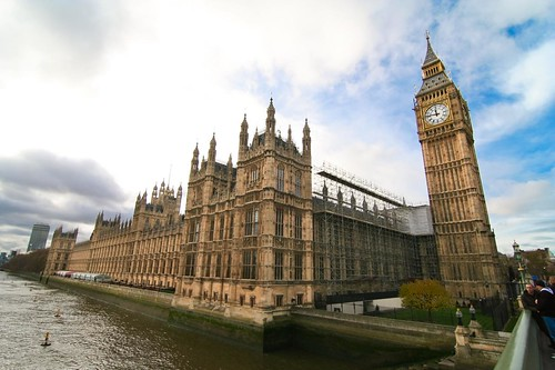 London... The Palace of Westminster...