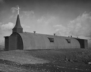 NOB Adak, AK Catholic Chapel oblique October 1944