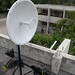 Ubiquiti RocketDish on SOS Children's rooftop