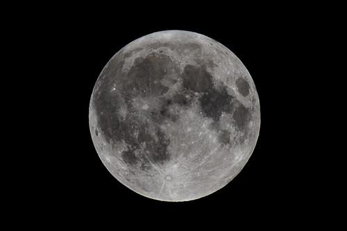 sky moon black monochrome night dark geotagged outdoor highcontrast gritty luna fullmoon wolfmoon explored 30365 nikond700 nikon70200mmf28gafsvrifed nikontc14eii14xteleconverter