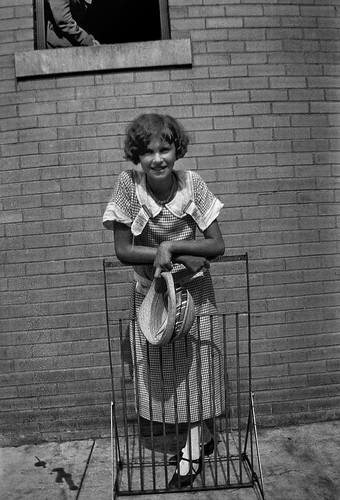 Unidentified young woman, Dayton, Tennessee, July 1925.