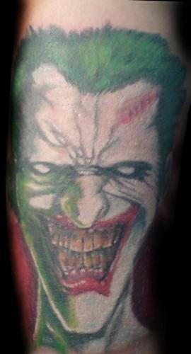 Tatuajes del Guasón