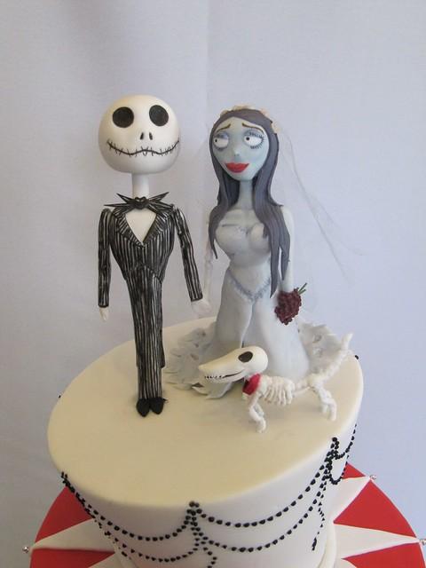Jack Skeleton Cake Toppers