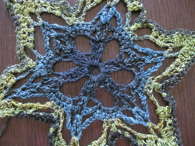 2 Shawl Patterns = Easy Filet Mesh, Easy Star Stitch, free easy