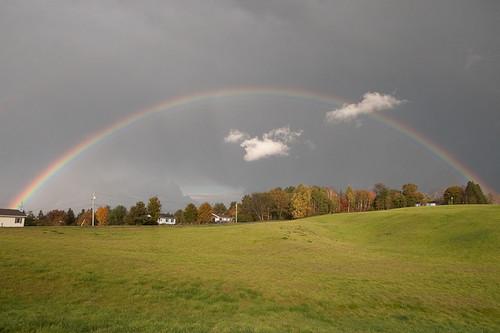 rainbows vistalandscape