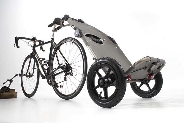 Travoy with Bike
