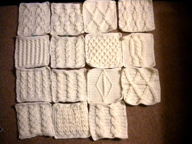 crochet cable stitch afghan patterns