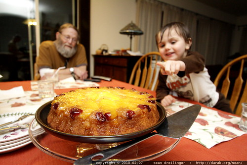 pineapple upside down cake   its what's for dessert