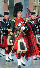 festival, musician, clothing, kilt, marching, costume, bagpipes,
