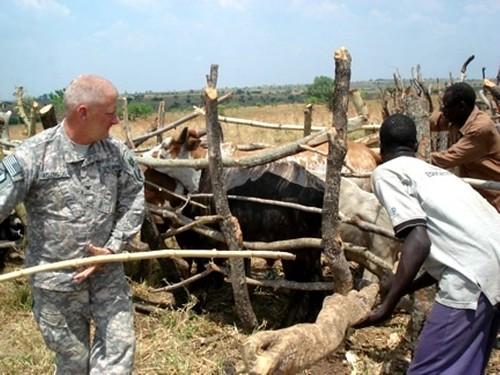 U.S. Army Reserve civil affairs teams work in the Horn of Africa