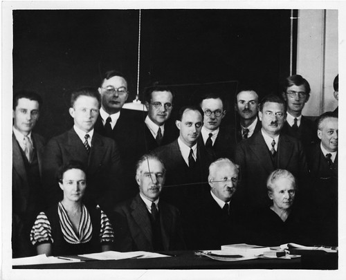 Physicists at the Seventh Solvay Physics Conference, Brussels, Belgium, October 1933