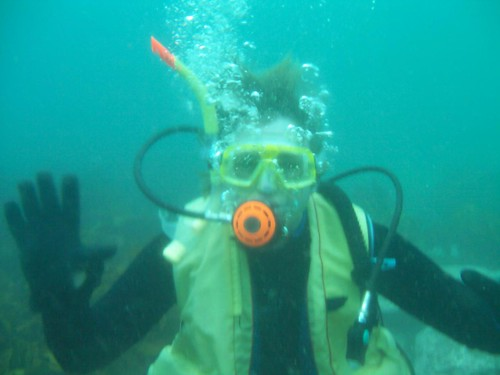 Scuba Diving with Christian