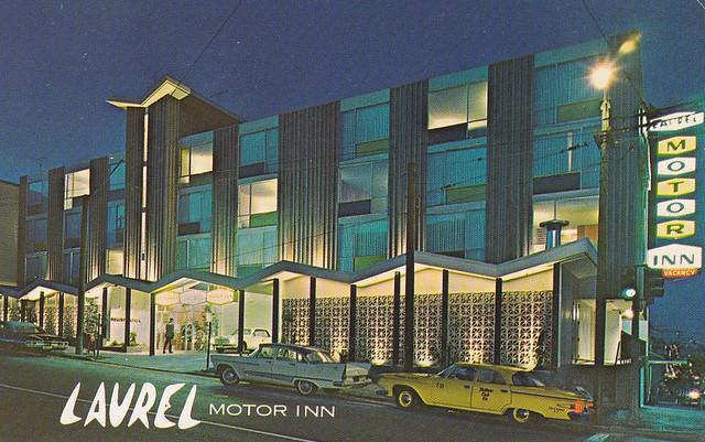 Laurel Motor Inn San Francisco 1960s Flickr Photo Sharing