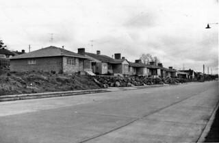 Houses on 32nd Avenue W., 1955