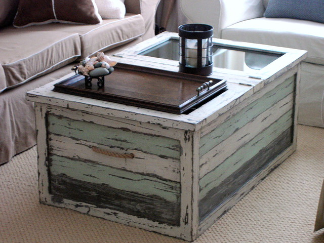 photo With beach cottage coffee table