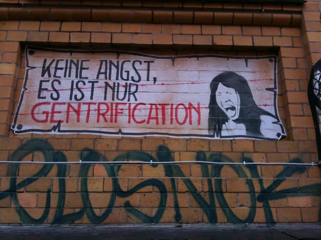 keine Angst, es ist nur Gentrification