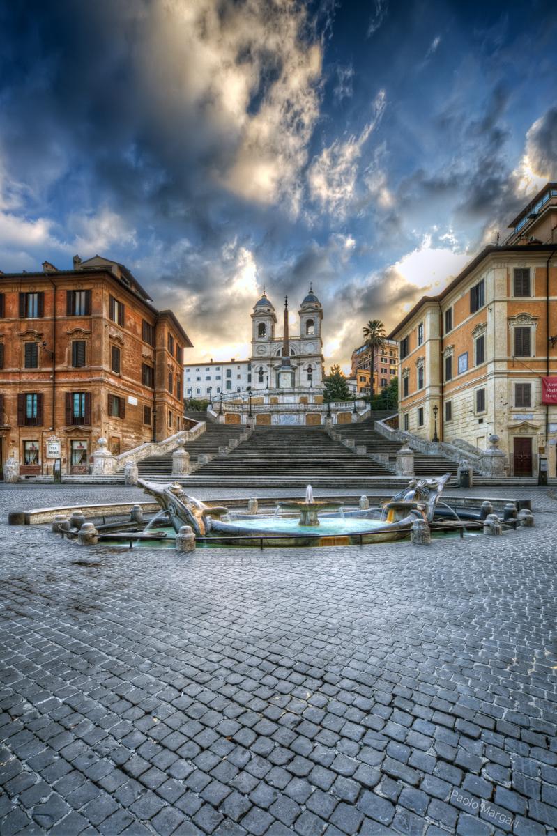 Piazza di Spagna / Roma, Italia
