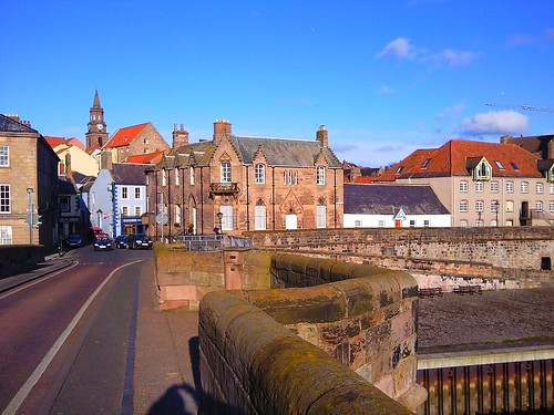 Berwick upon Tweed from old bridge