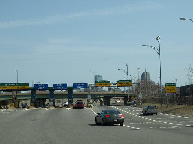 Mass Pike tollbooth