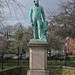 Small photo of Sir Peter Fairbairn statue