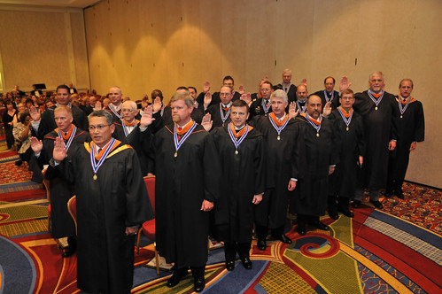 The SAME 2010 Academy of Fellows were sworn in during the Investiture Ceremony in Crystal City Marriott.