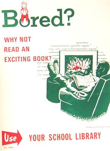 RETRO POSTER - Bored?