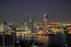Kop van Zuid, Rotterdam by night