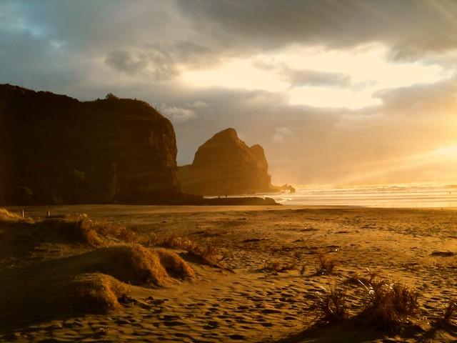 Golden Piha Beach