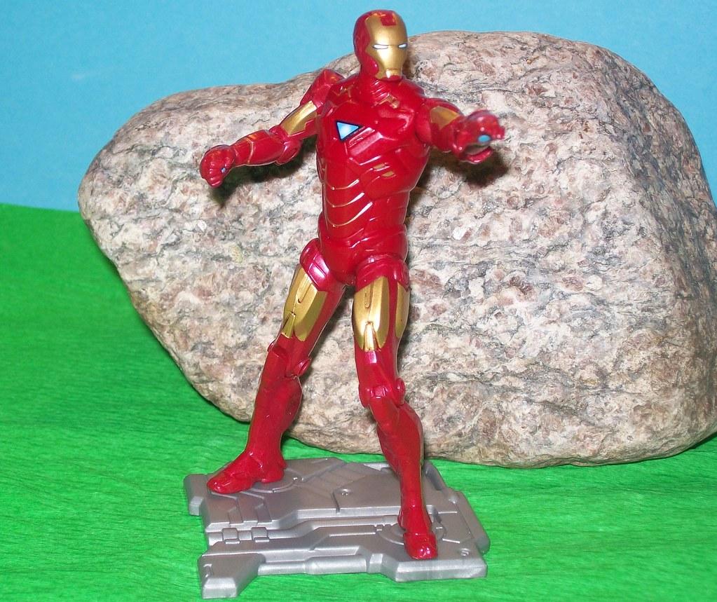 Armor Tech Iron Man - Negative Zone upgrade Iron Man Movie II 3 3/4 inch Superhelden Superhero 018