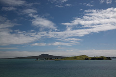Browns Island and Rangitoto From Musick Point